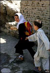 Children playing in Kabul