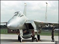 A US F-15
