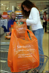 Sainsbury's new  bag