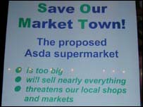 Local posted opposing Asda
