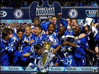 Chelsea and Barclays Premiership