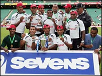 Sevens champions Fiji