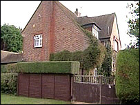 The house where the boy was attacked