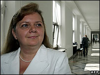 Renata Beger, subject of the alleged cabinet job offer
