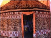 Tiger tent