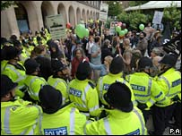 Manchester protest