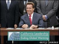 Arnold Schwarzenegger, gobernador de California