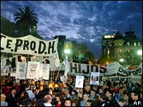 Buenos Aires protest