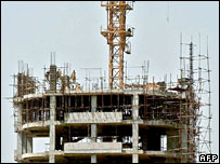 Construction work in Pakistan