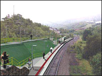 Artist impression of part of the new line