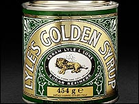 A tin of Lyle's Golden Syrup