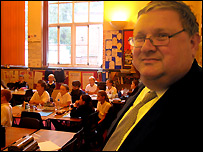 John Hughes of Victoria Primary