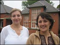 Agnieszka Tenteroba and Vicky Seddon
