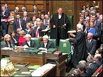 House of Commons scene