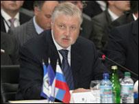 Спикер Совета Федерации Сергей Миронов (фото с сайта www.mironov.ru)