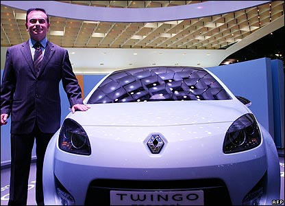 Renault's new Twingo concept car