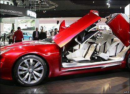 Citroen's C-Metisse concept car