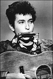 Bob Dylan en 1963.