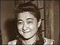 Iva Toguri in her younger days