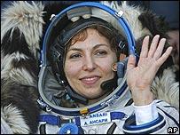 Anousheh Ansari, turista espacial