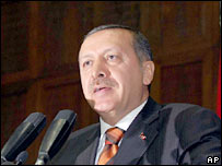 Turkish PM Recep Tayyip Erdogan. File photo