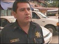 Police Commander Carlos Gonzalez Fonseca