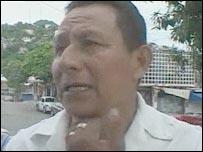 Jose Peralta Nava, Acapulco taxi driver