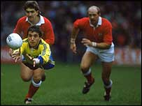 Romania scored a famous victory at the Arms Park in 1988