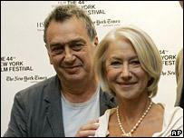 Stephen Frears y Helen Mirren