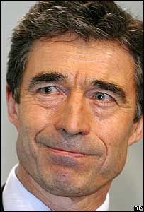 Denmark's Prime Minister Anders Fogh Rasmussen