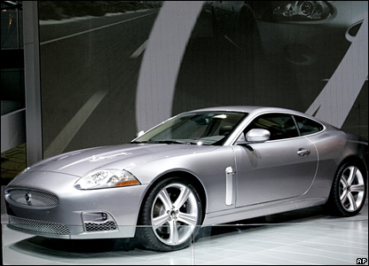 New Jaguar XK R
