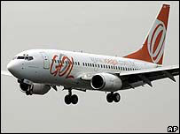 File picture of a Boeing 737-700 from Gol Airlines