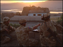 Soldiers in Sangin