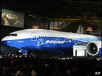 Nuevo modelo de Boeing