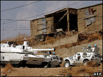 UN troops in south Lebanon