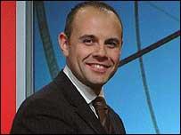 BBC Wales Today presenter Jason Mohammad