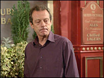 "Leslie Grantham as ""Dirty"" Den Watts"