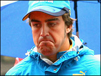 Fernando Alonso after the China Grand Prix