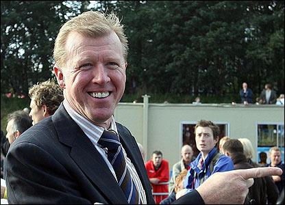 England manager Steve McLaren is the official starter