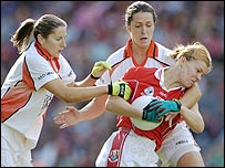 Cork beat Armagh in the All-Ireland ladies final