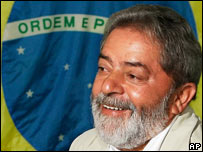 Luiz Inacio Lula da Silva on voting day