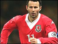 Wales captain Ryan Giggs