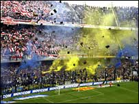 La Bombonera is the famous ground of Boca Juniors