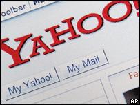 Yahoo homepage, AP