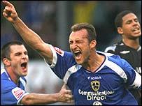 Cardiff City midfielder Riccardo Scimeca
