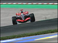 Kimi Raikkonen's McLaren