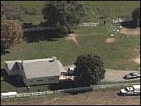 Aerial shot of schoolhouse (supplied by WTXF)