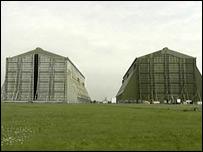 Airship hangars at Cardington