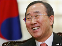 Foreign Minister Ban Ki-moon