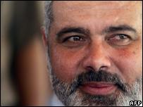 Hamas Prime Minister Ismail Haniya